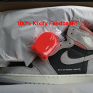 Air Jordan 1 Retro High OG Neutral Grey Hyper Crimson
