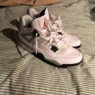 Air Jordan 4 OG 89 White Cement